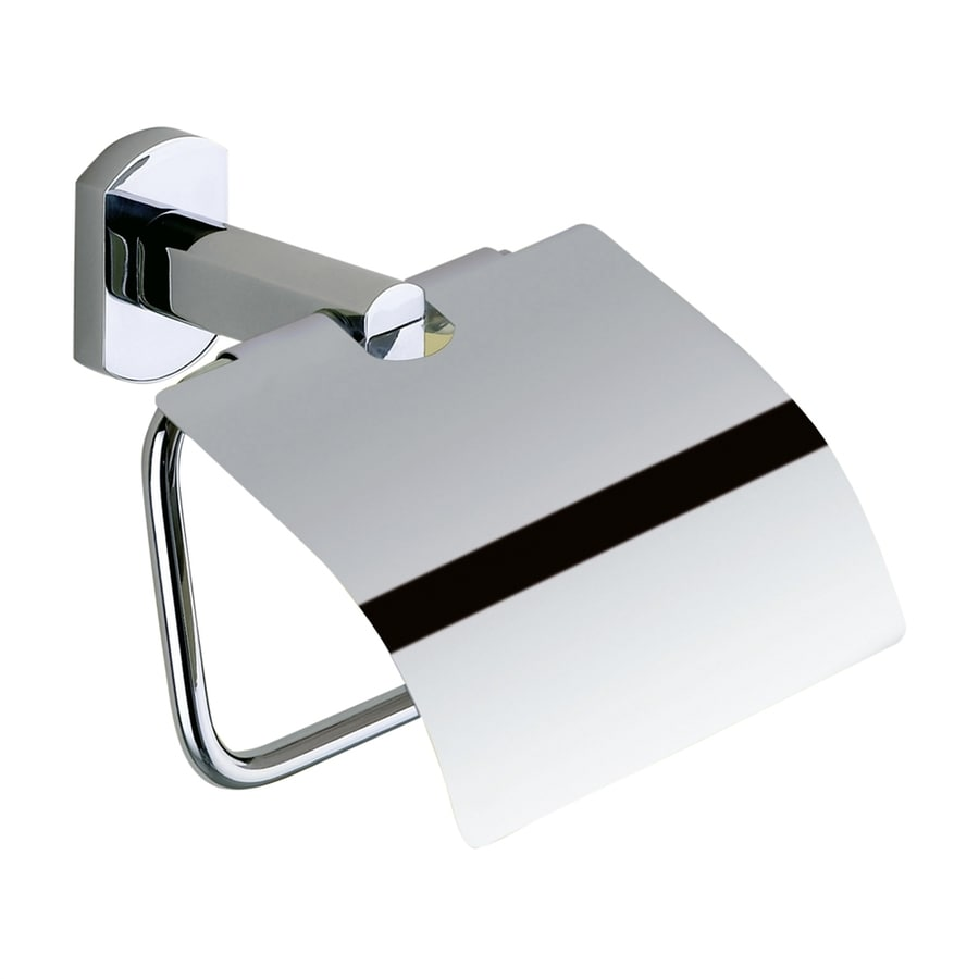 Nameeks Edera Chrome Surface Mount Single Post with Arm Toilet Paper Holder