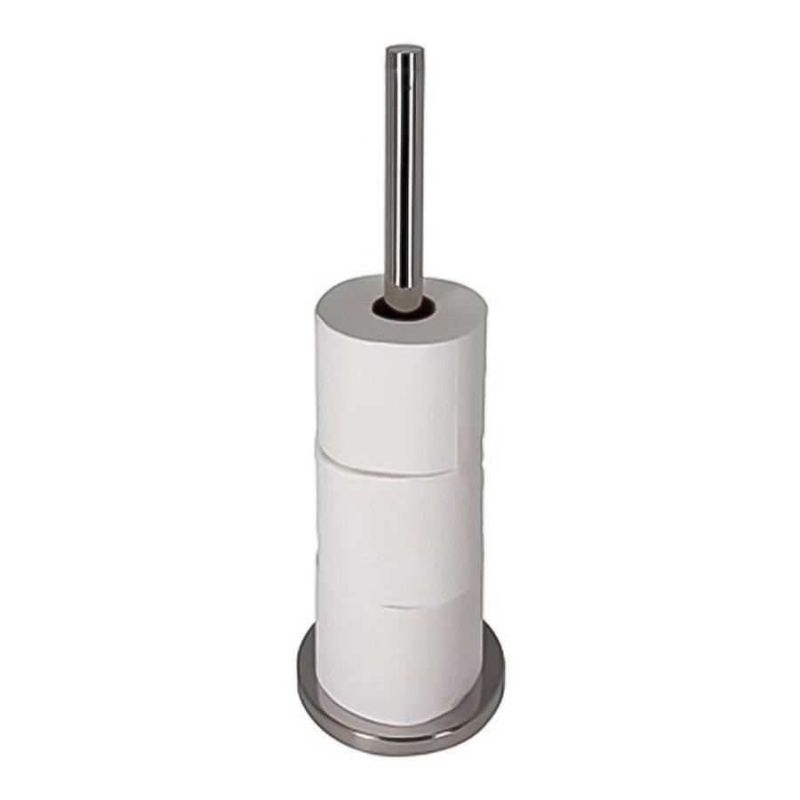 Nameeks Standard Hotel Chrome Freestanding Floor Single Post Toilet Paper Holder