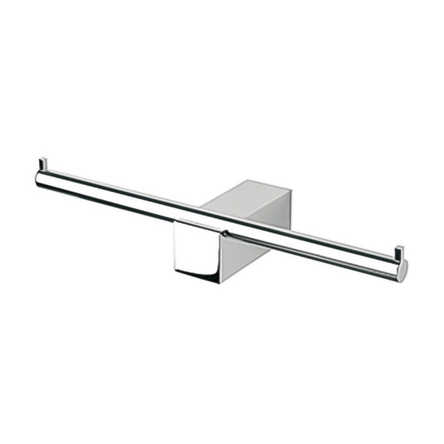 Nameeks Nexx Chrome Surface Mount Single Post with Arm Toilet Paper Holder