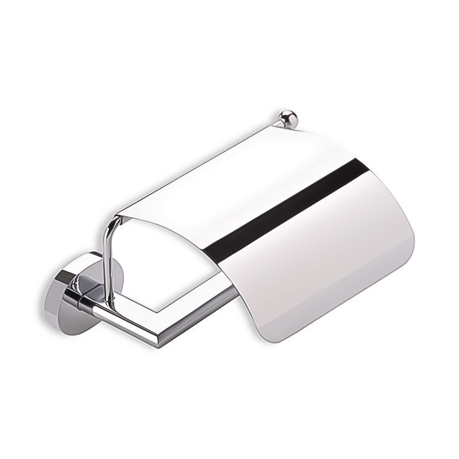 Nameeks Diana Chrome Surface Mount Single Post with Arm Toilet Paper Holder