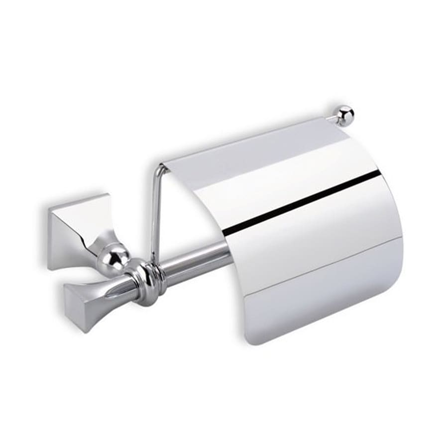 Nameeks Prisma Chrome Surface Mount Single Post with Arm Toilet Paper Holder