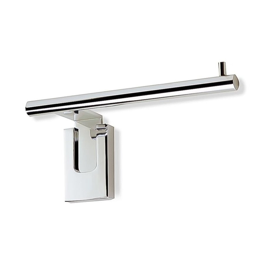 Nameeks Quid Chrome Surface Mount Single Post with Arm Toilet Paper Holder