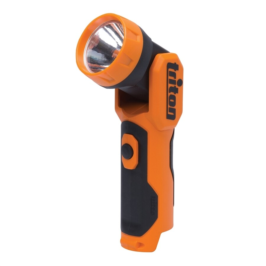 Triton Tools 100-Lumen LED Handheld Rechargeable Battery Flashlight