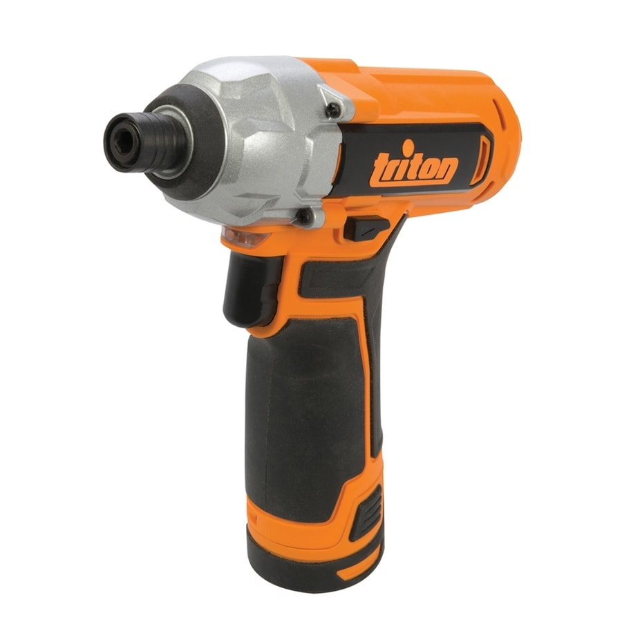 Triton Tools 12-Volt-Volt Lithium Ion (Li-ion) 1/4-in Cordless Variable Speed Impact Driver with Soft Case