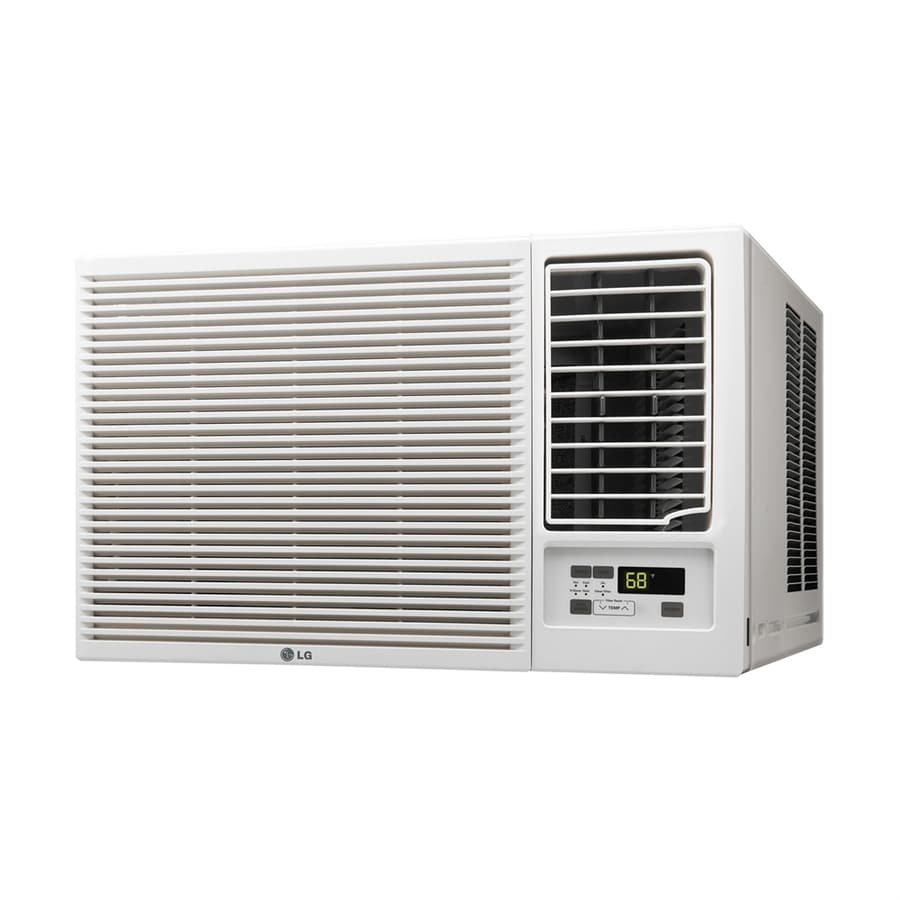 Shop lg 550 sq ft window air conditioner with heater 230 for 12000 btu window ac