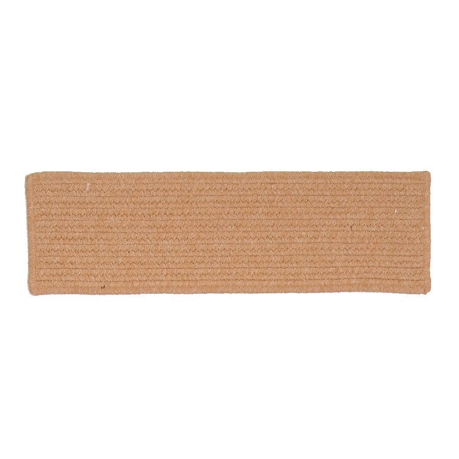 Attrayant Colonial Mills Westminster Gold Rectangular Stair Tread Mat (Common: 1/2 Ft