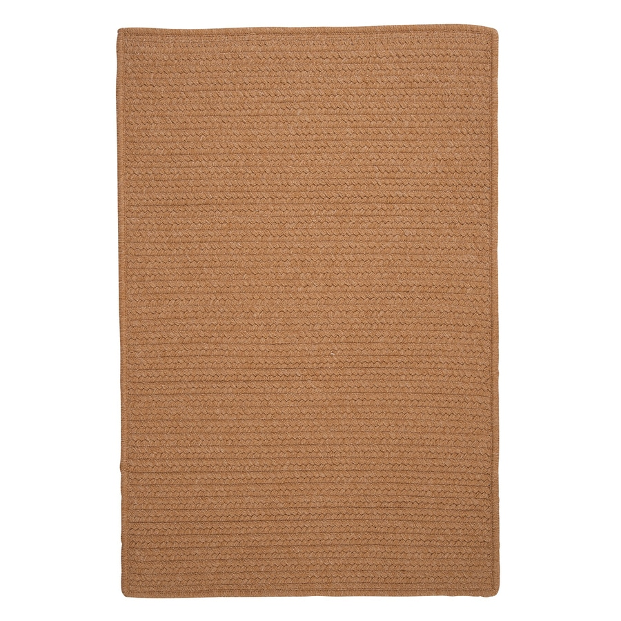 Colonial Mills Westminster Evergold Square Indoor Handcrafted Area Rug (Common: 4 x 4; Actual: 4-ft W x 4-ft L)