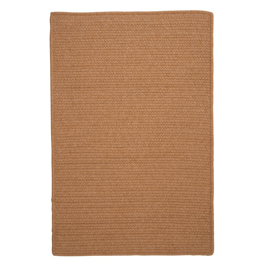 Colonial Mills Westminster Evergold Rectangular Indoor Handcrafted Area Rug (Common: 8 x 11; Actual: 8-ft W x 11-ft L)