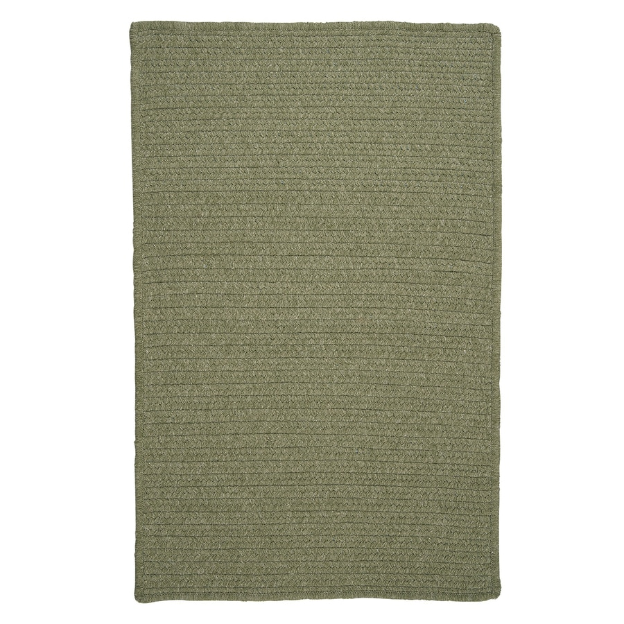 Shop colonial mills westminster palm rectangular indoor for Common throw rug sizes