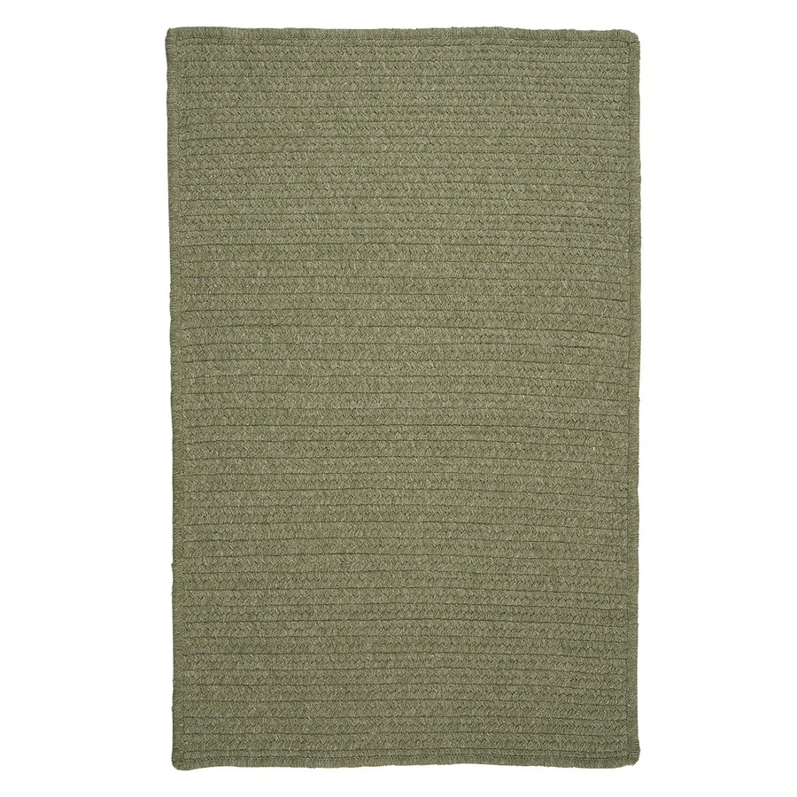 Colonial Mills Westminster Palm Square Indoor Handcrafted Area Rug (Common: 8 x 8; Actual: 8-ft W x 8-ft L)