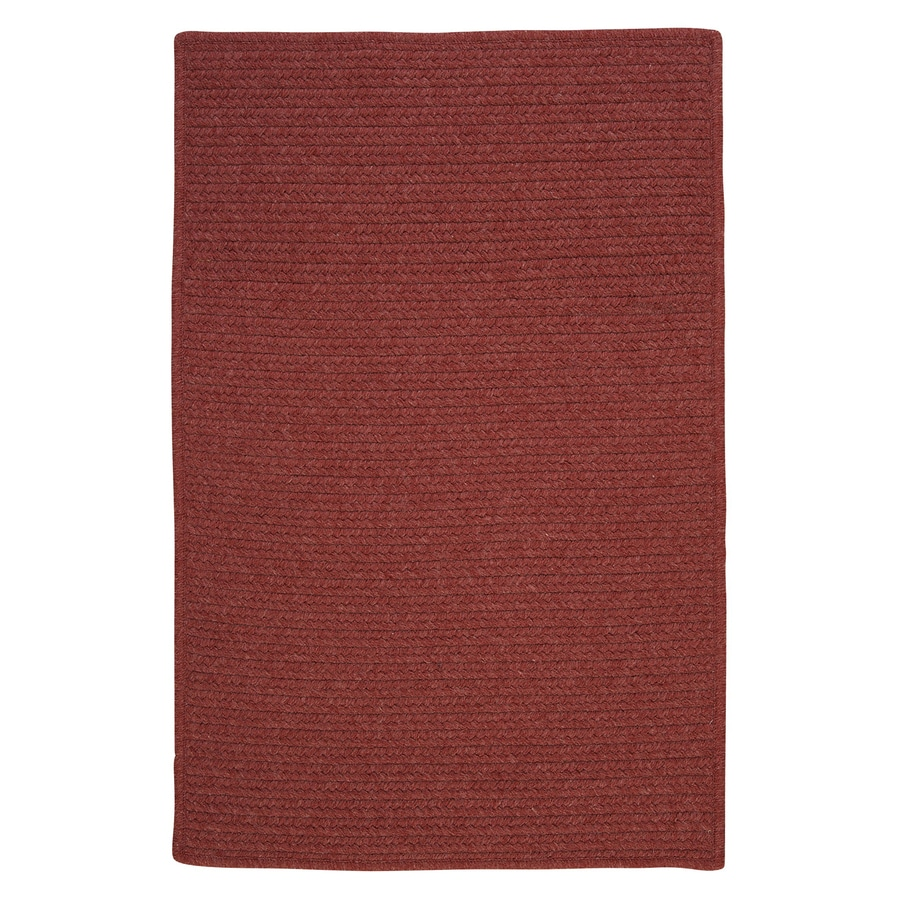 Colonial Mills Westminster Rosewood Rectangular Indoor Handcrafted Area Rug (Common: 7 x 9; Actual: 7-ft W x 9-ft L)