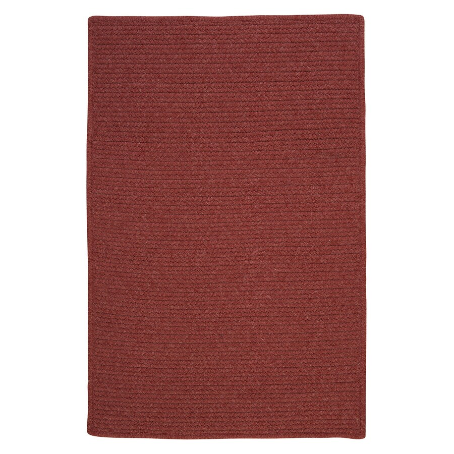 Colonial Mills Westminster Rosewood Square Indoor Handcrafted Area Rug (Common: 10 x 10; Actual: 10-ft W x 10-ft L)