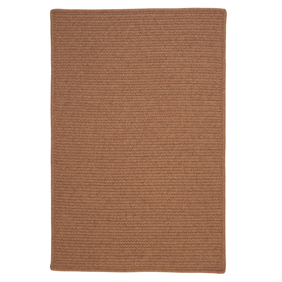 Colonial Mills Westminster Taupe Rectangular Indoor Handcrafted Area Rug (Common: 4 x 6; Actual: 4-ft W x 6-ft L)