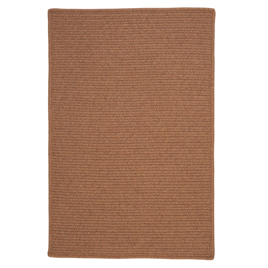 Colonial Mills Westminster Taupe Square Indoor Handcrafted Area Rug (Common: 8 x 8; Actual: 8-ft W x 8-ft L)