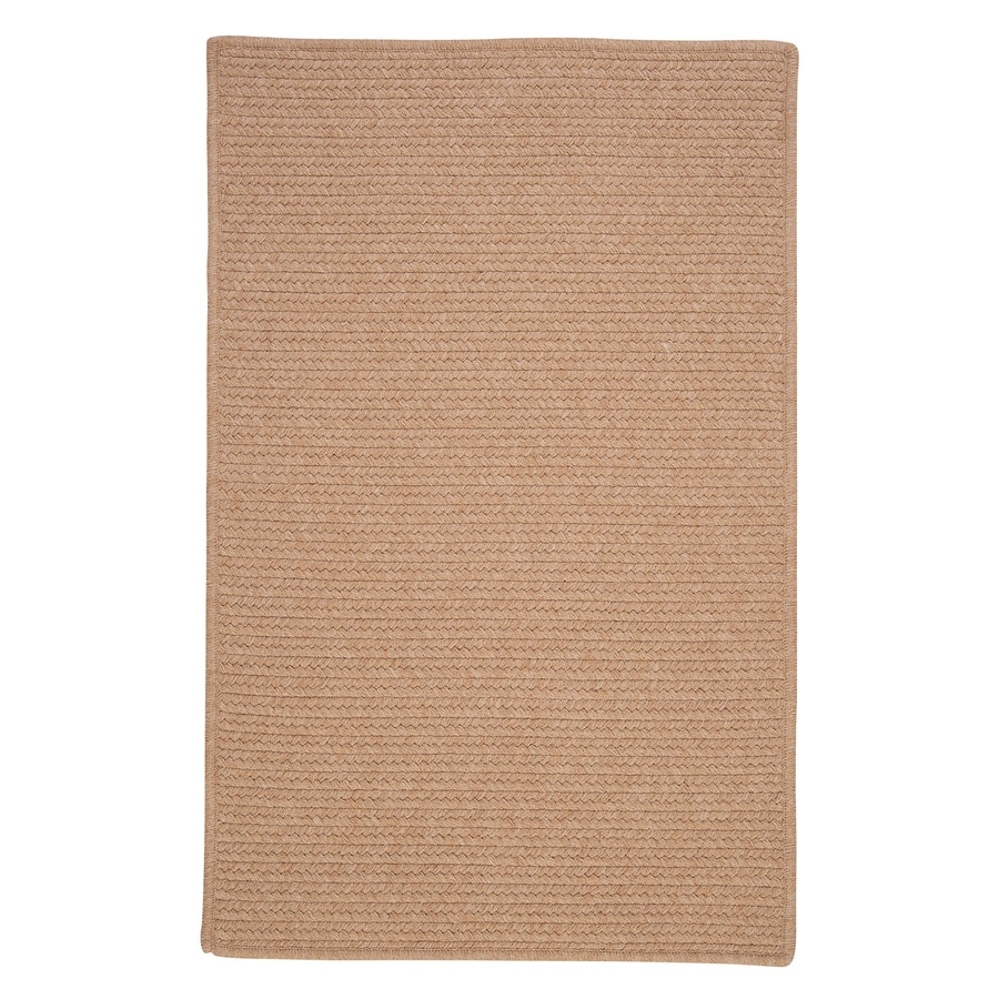 Colonial Mills Westminster Oatmeal Rectangular Indoor Handcrafted Area Rug (Common: 8 x 11; Actual: 8-ft W x 11-ft L)