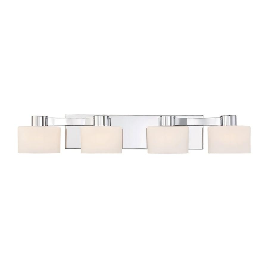 Quoizel Tatum 4-Light 5-in Polished Chrome Oval Vanity Light
