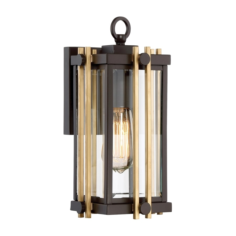Quoizel Goldenrod 12.75-in H Western Bronze Medium Base (E26) Outdoor Wall Light
