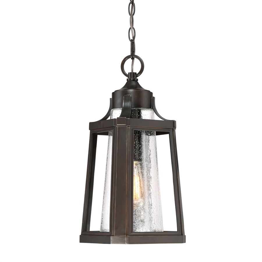 Quoizel Lighthouse 18.75-in Palladian Bronze Outdoor Pendant Light