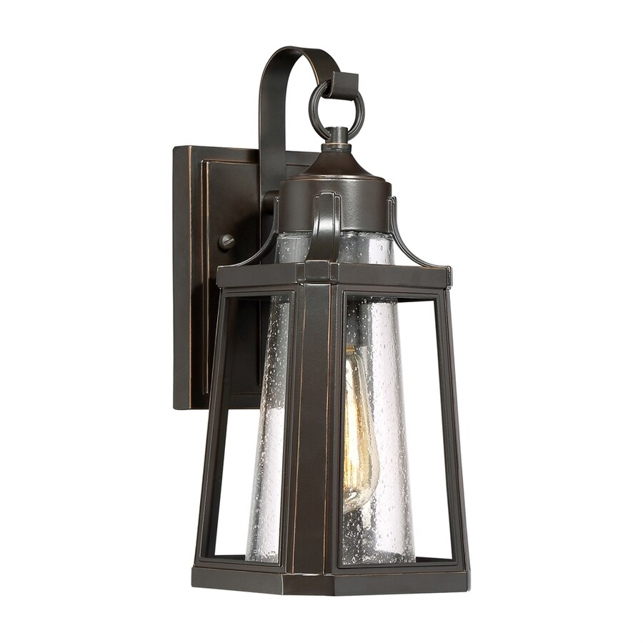 Quoizel Lighthouse 13.25-in H Palladian Bronze Outdoor Wall Light
