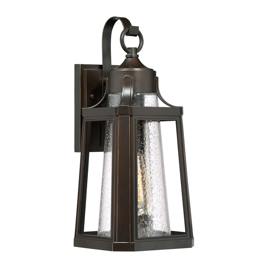 Quoizel Lighthouse 16.75-in H Palladian Bronze Outdoor Wall Light