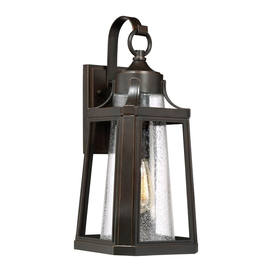 Quoizel Lighthouse 19.75-in H Palladian Bronze Outdoor Wall Light