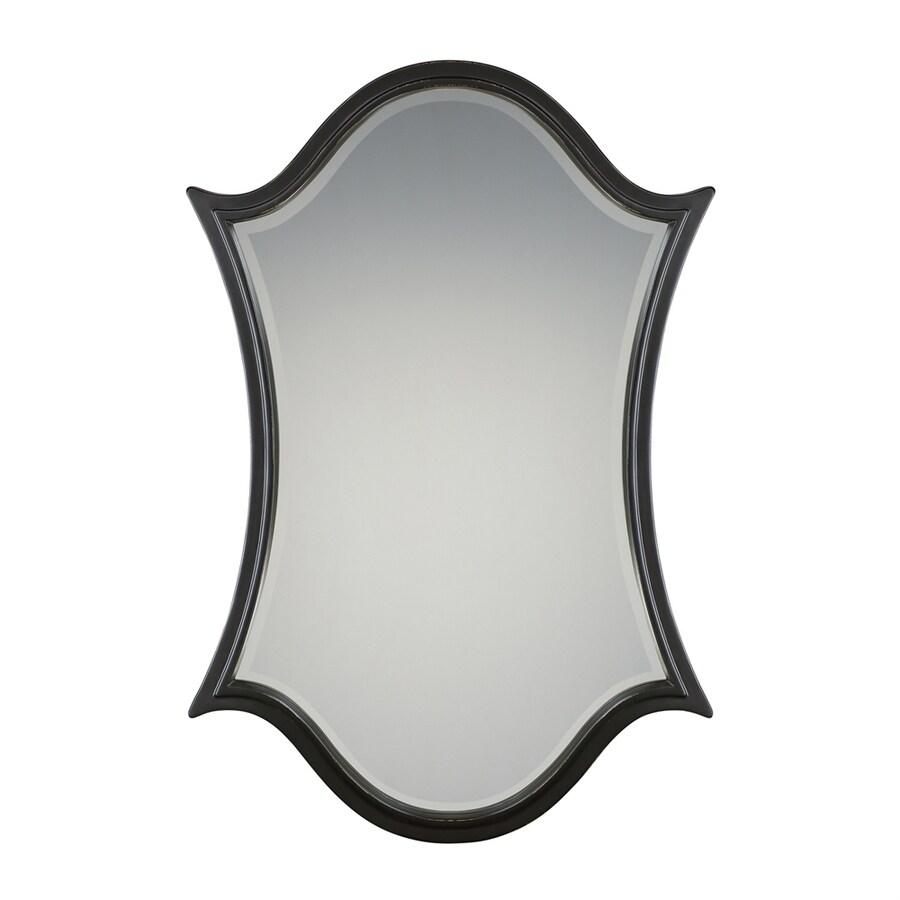Quoizel Vanderbilt Palladian Bronze Beveled Arch Wall Mirror