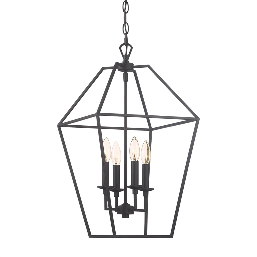 Quoizel Aviary 13-in Palladian Bronze Vintage Single Cage Pendant