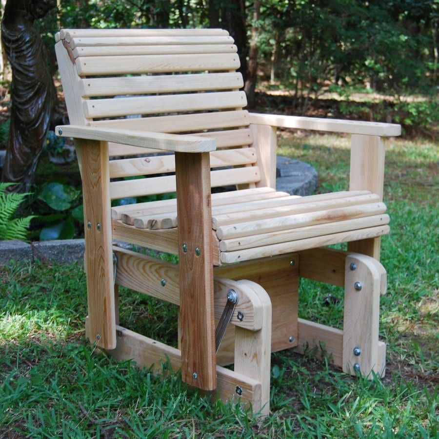 LA Cypress Swings Porch Glider