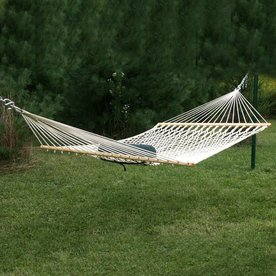 kingcord hammocks bougainville natural beige woven hammock shop hammocks  u0026 accessories at lowes    rh   lowes