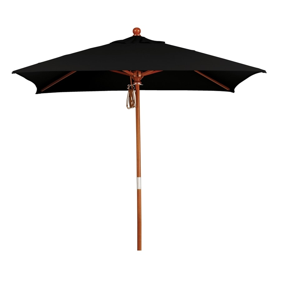 California Umbrella MARE Black Market 6 Ft Patio Umbrella