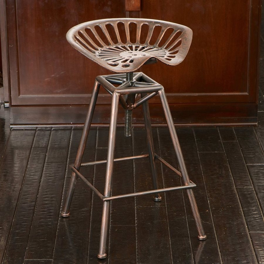 Best Selling Home Decor Chapman Industrial Copper Adjustable Stool