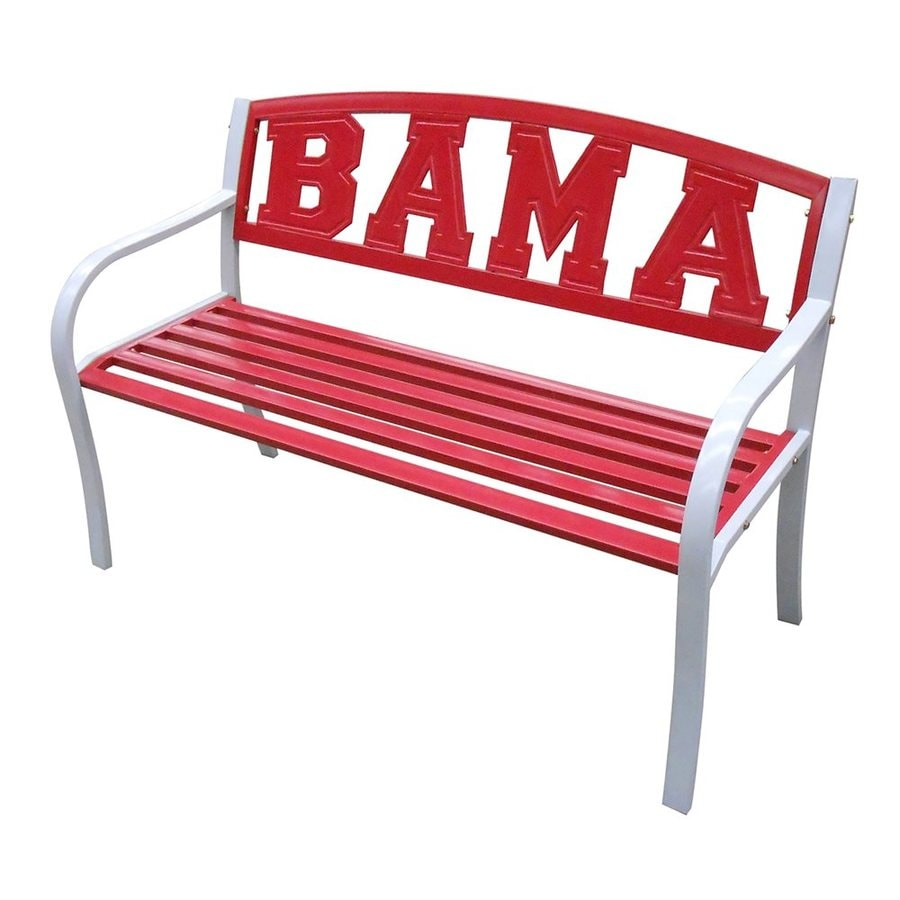 Leigh Country Alabama Crimson Tide 24 In W X 51 In L Patio Bench