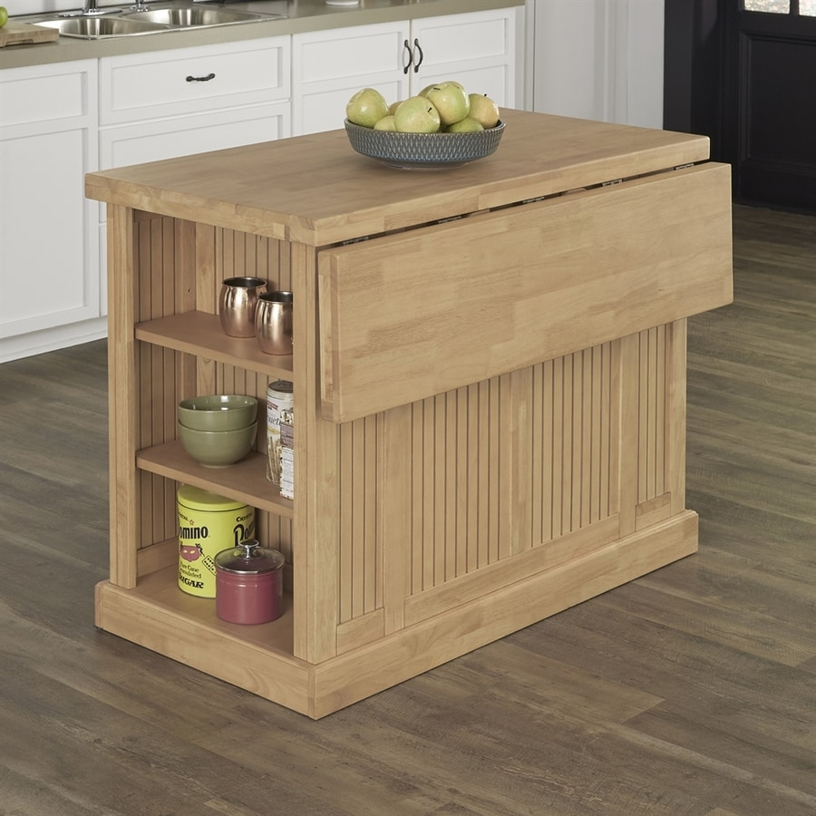 Home Styles Brown Midcentury Kitchen Islands At Lowes.com