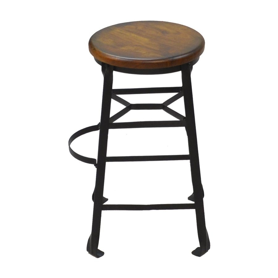 CAROLINA COTTAGE Harrison Black Counter Stool