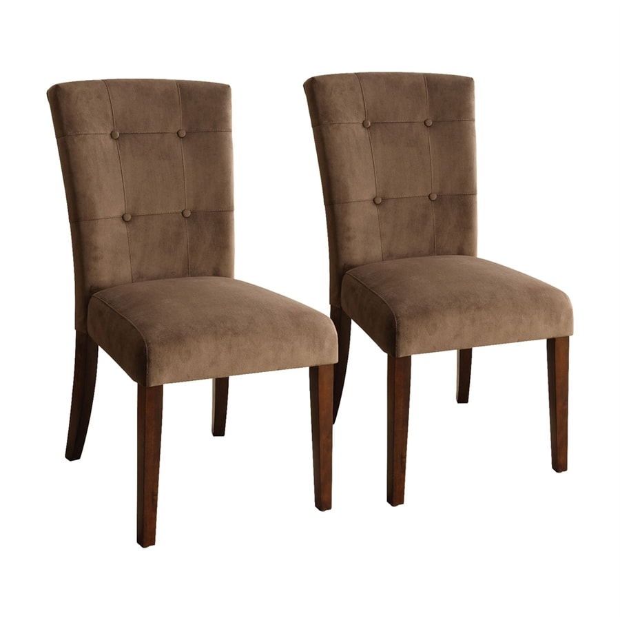 Furniture of America Set of 2 Havana Casual Side Chairs
