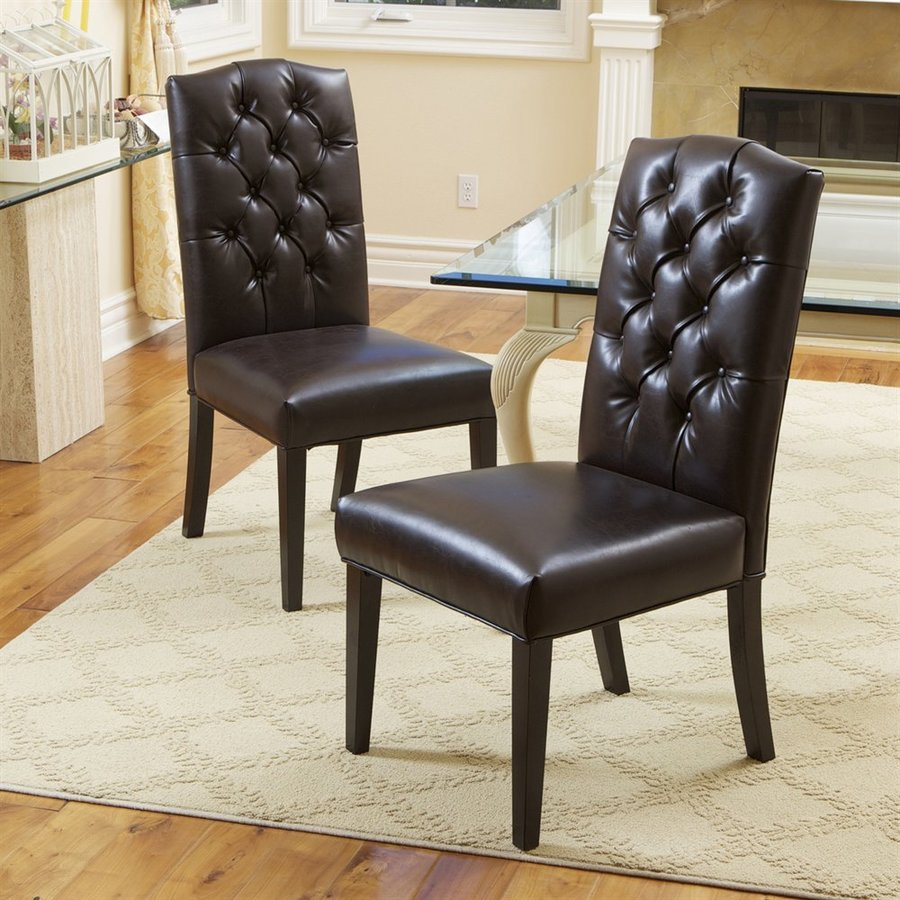 Best Selling Home Decor Set of 2 Crown Top Side Chairs
