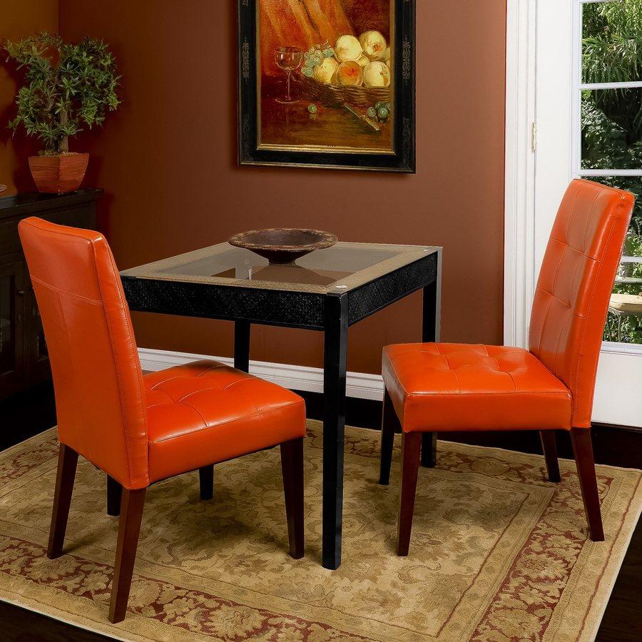Orange Home Decor: Best Selling Home Decor Bronson Burnt Orange Side Chair At