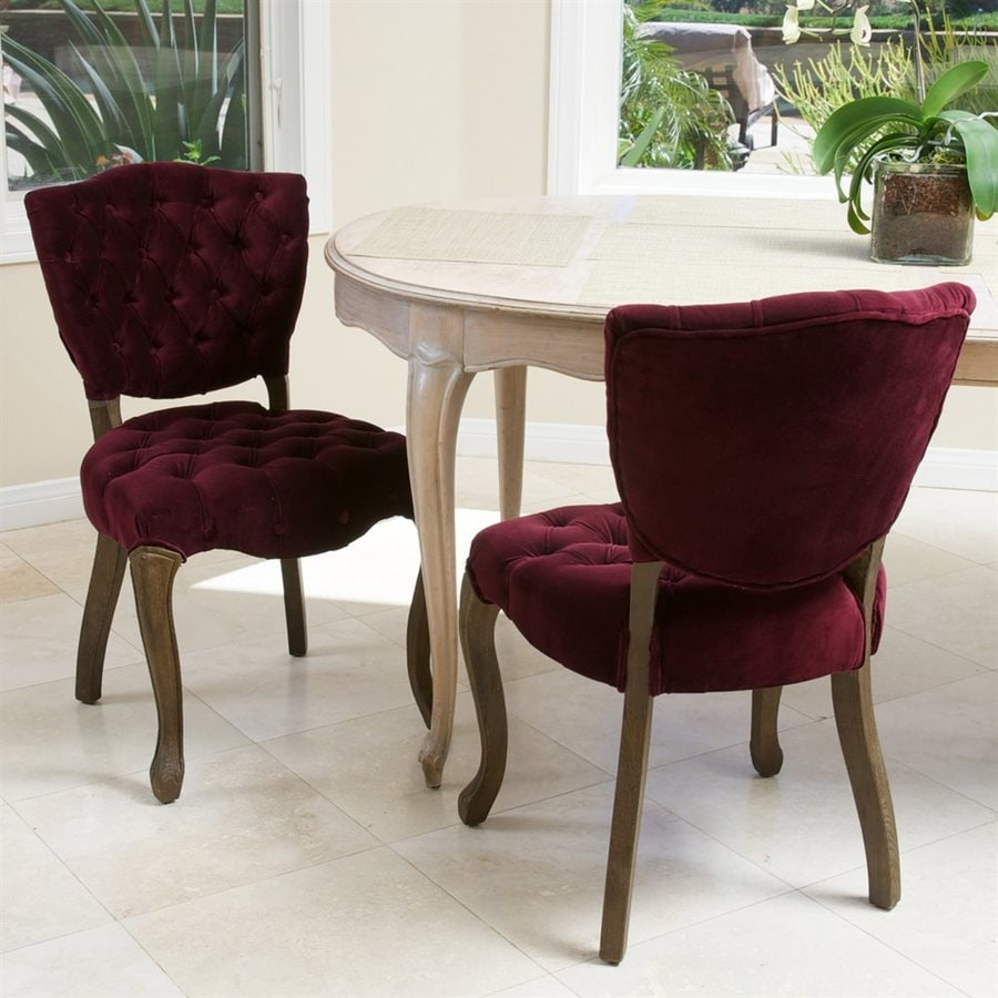 Best Selling Home Decor Set of 2 Bates Traditional Side Chairs
