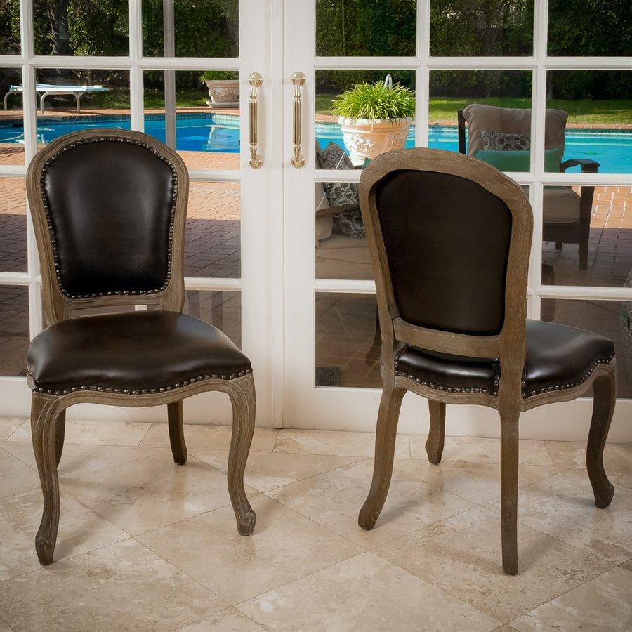 Best Selling Home Decor Set of 2 Maryland Traditional Side Chairs