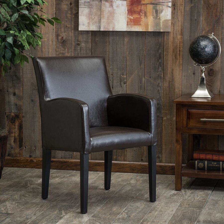 Shop best selling home decor biltmore brown arm chair at for Best selling home decor products