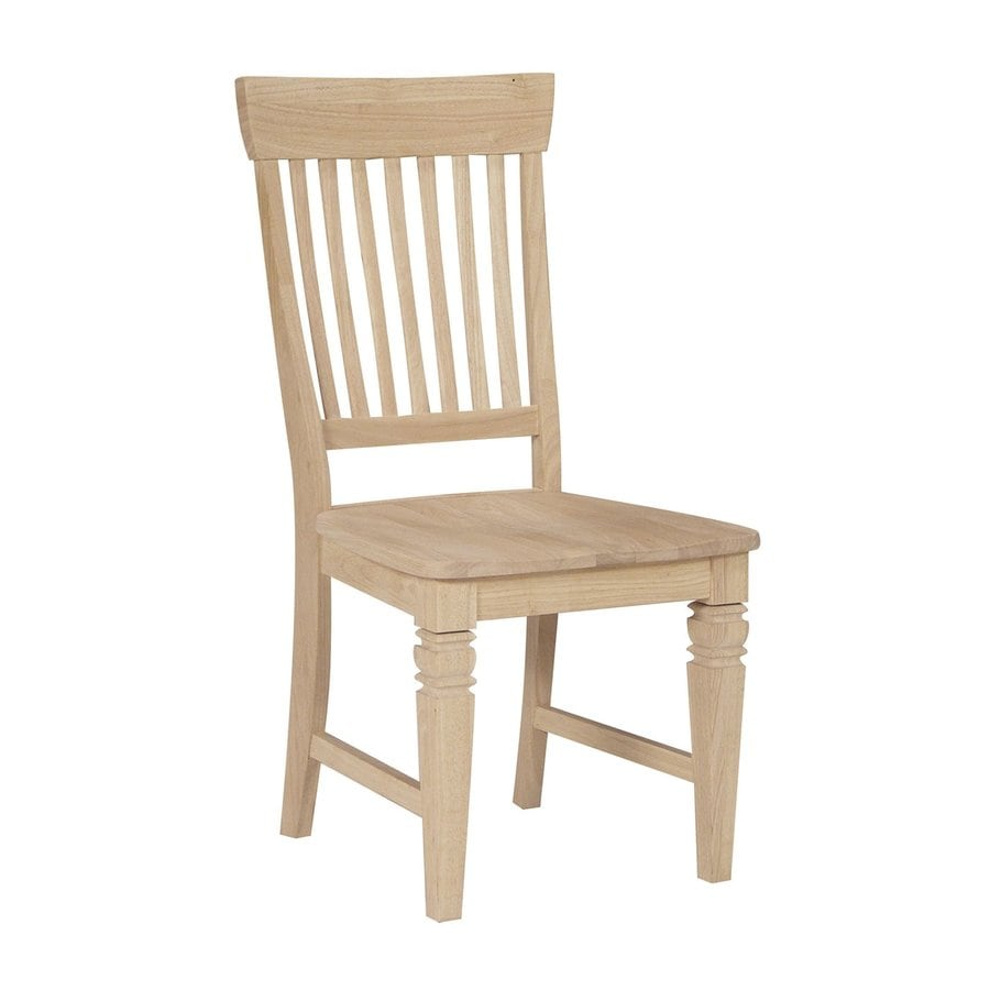International Concepts Set of 2 Java Mission/Shaker Side Chairs