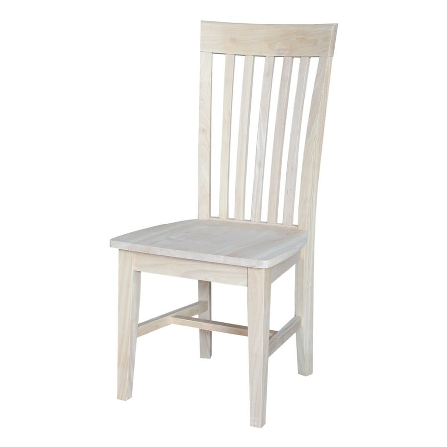 International Concepts Set of 2 Mission/Shaker Side Chairs