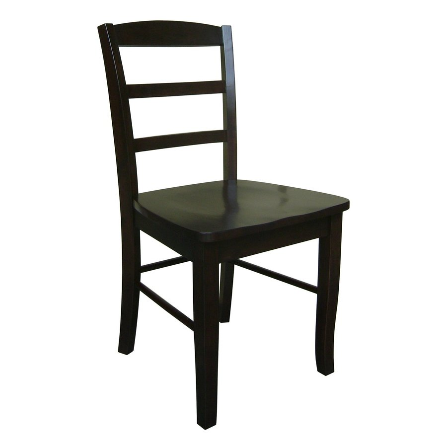 International Concepts Set of 2 Madrid Side Chairs