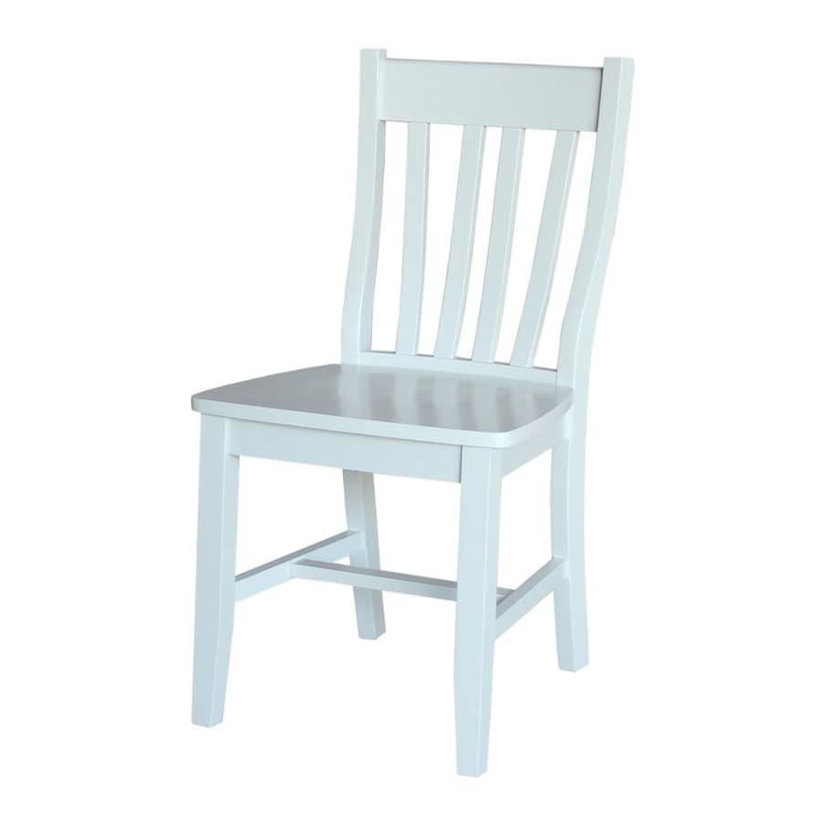 International Concepts Set of 2 Side Chairs