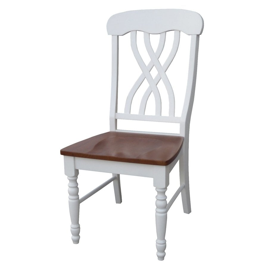 International Concepts Set of 2 Madison Park Side Chairs