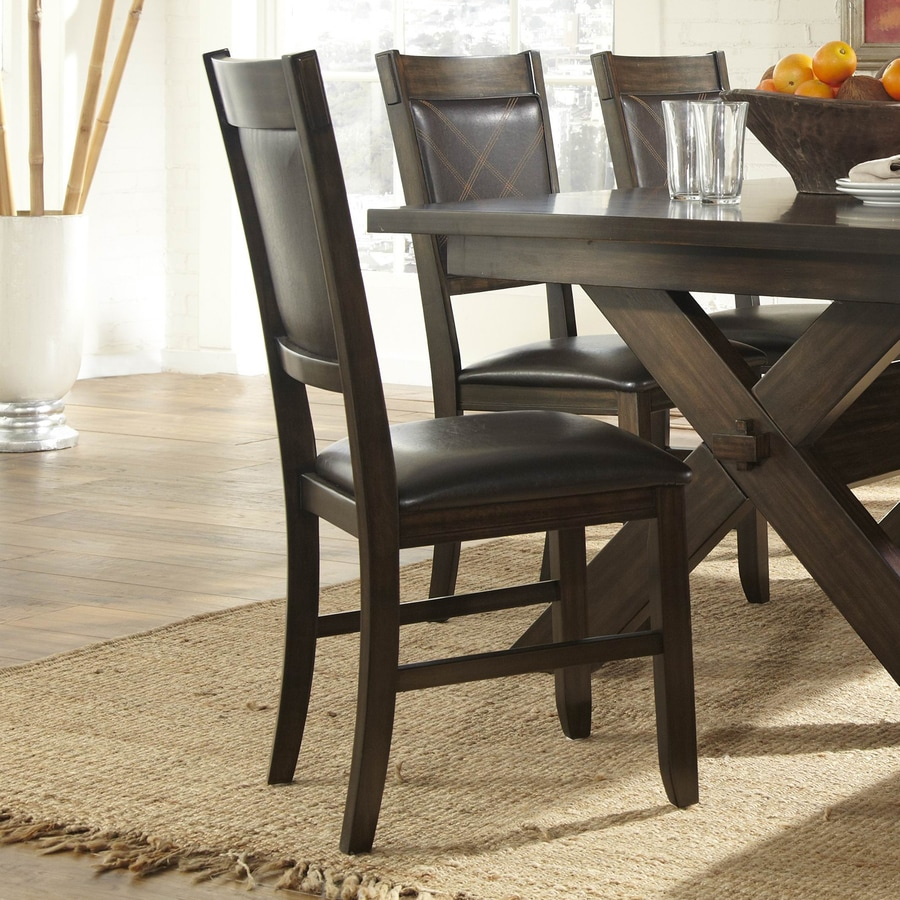 Homelegance Set of 2 Roy Casual Side Chairs