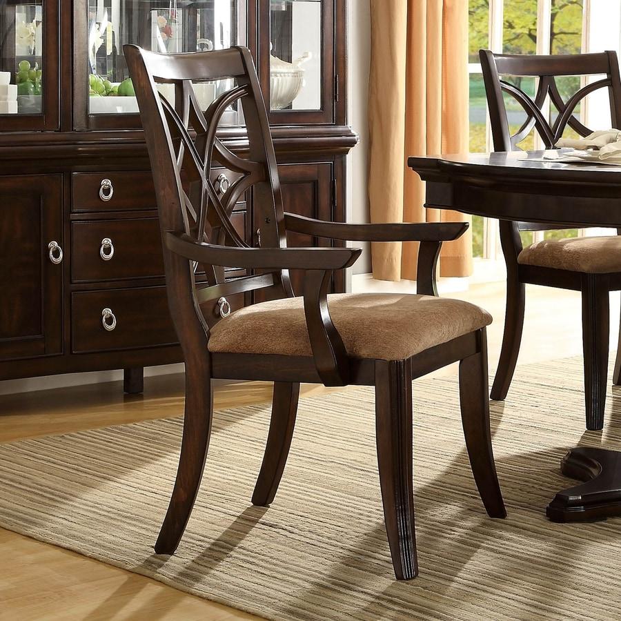 Homelegance Set of 2 Keegan Traditional Arm Chairs