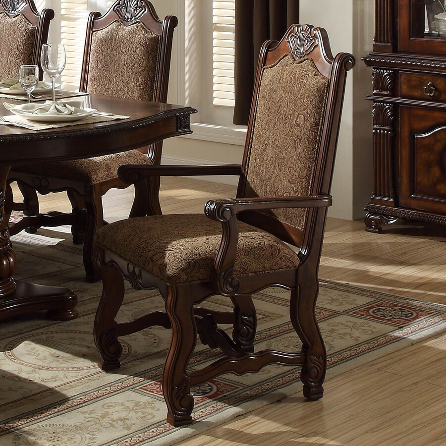 Homelegance Set of 2 Thurmont Traditional Arm Chairs