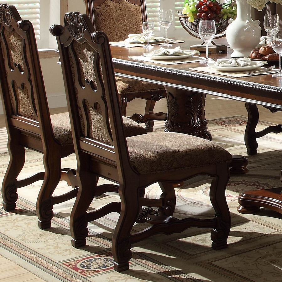 Homelegance Set of 2 Thurmont Traditional Side Chairs