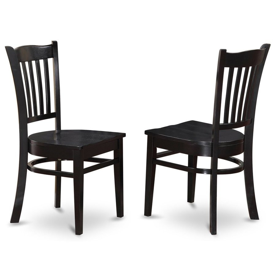 East West Furniture Set of 2 Groton Side Chairs